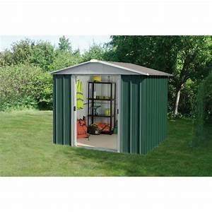 YARDMASTER Abri de jardin en métal 5,25m² Achat / Vente abri jardin chalet Abri de jardin 5