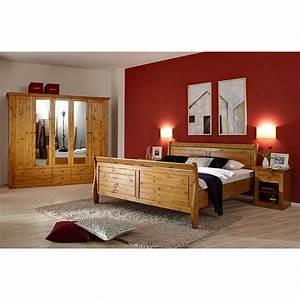 Schlafzimmer Set Günstig : schlafzimmer set lyngby 4 teilig kiefer massiv provence steens g nstig online kaufen ~ Markanthonyermac.com Haus und Dekorationen