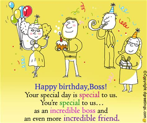 Birthday Wishes For Boss Happy Message