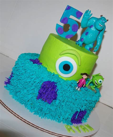 monsters inc cake nutmeg confections cakes i made