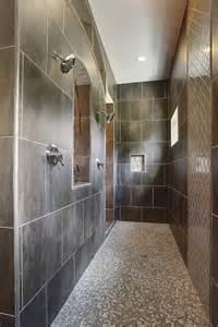 Bathroom Walk-In Tile Showers