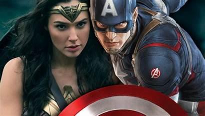 Captain Wonder America Woman Marvel Capitan Superhero