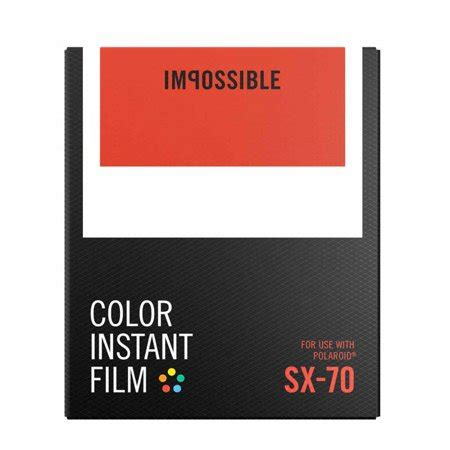 Impossible Instant by Impossible Instant Color For Sx 70 Walmart