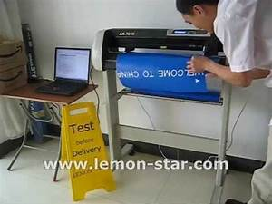 how to use schneideplotter cutting plotter machine With vinyl letter printing machine