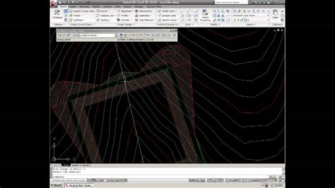 civil  autocad  grading tools  create  small