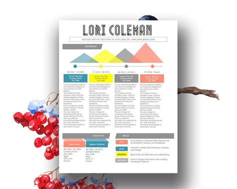 Infographic Resume Template Microsoft Word by 9 Best Images About Colorful Infographic Resume Template