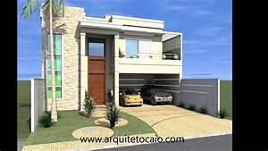 Projeto Casa Sobrado 3 Dormitorio  Arquitetura Moderna   Arquitetocampinas Com