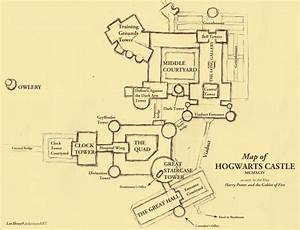 Map of Hogwarts Castle   Random Harry Potter   Pinterest ...