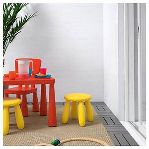 Ikea Mammut Stuhl : mammut children 39 s stool in outdoor yellow ikea ~ Watch28wear.com Haus und Dekorationen