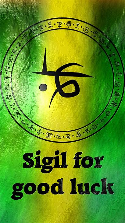 Luck Sigil Symbols Wiccan Magic Magick Anonymous