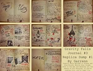 Gravity Falls Journal 3 Replica Page Dump 1 By Garrenn