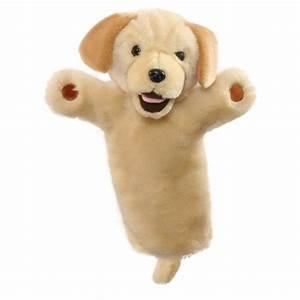 Marionnette à Main : marionnette main labrador beige avec une longue manche pour les enfants ~ Teatrodelosmanantiales.com Idées de Décoration