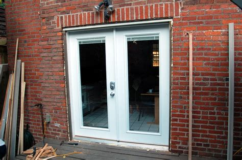 install french doors exterior wall video