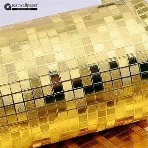 Aliexpress.com : Buy Great wall Luxury glitter mosaic gold ...