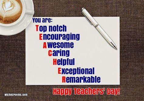 happy teachers day wishes images quotes poems