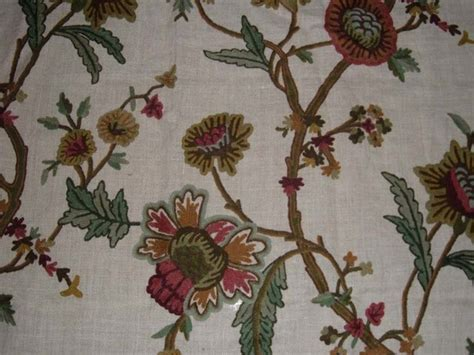 Crewel Upholstery Fabric by Crewel Fabric World By Mds Crewel Fabric Shalimar