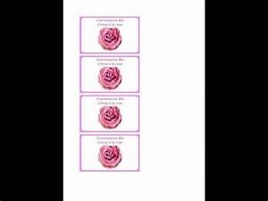 Faire Ses étiquettes : faire facilement ses tiquettes pour cosm tiques avec paint hd youtube ~ Melissatoandfro.com Idées de Décoration