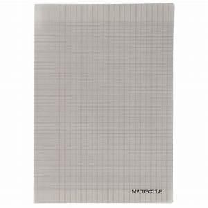 cahier piqures grand carreaux polypropylene 24x32 96p 90g With cahier grand carreaux 24x32