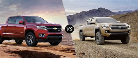 2015 Dodge Dodge Dakota Vs Toyota Tacoma