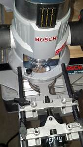 Bosch Ra1054 Deluxe Router Edge Guide W   Dust Extraction