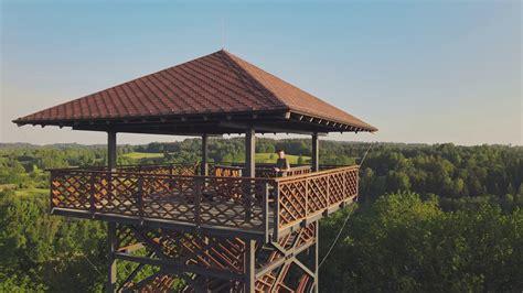 Veclaicenes skatu tornis - YouTube