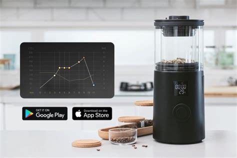With backgrounds in science & engineering, owners alec satterly. Wake Up smart home coffee bean roasting machine hits Kickstarter - Geeky Gadgets