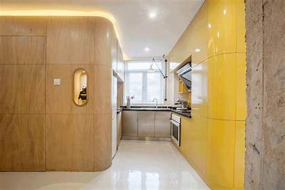Natural Curves Apartment Kitchen Toilet Instantly Shanghai
