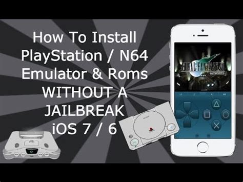 n64 emulator iphone install playstation n64 emulators without a jailbreak
