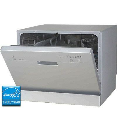 stainless steel countertop dishwasher portable tabletop