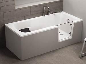 Badewannen Mit Tür : rechteckige badewanne mit t r seniorenbadewanne 170x75x62cm avo ~ Orissabook.com Haus und Dekorationen