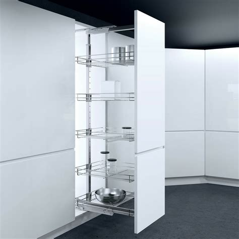 kitchen pull out storage units vauth sagel hsa pull out larder units 300mm cabinet width 8401