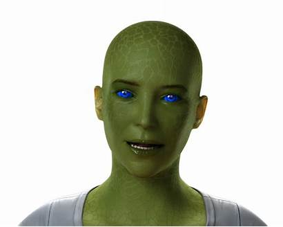 Alien Female Graphics Speech Animation Facial Software