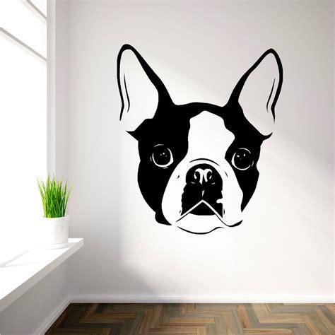 2pcs cute schnauzer dog puppy decal sticker car truck bumper window wall decor. Aliexpress.com : Buy Movable cute Boston Terrier dog avatar vinyl wall art decals wall stickers ...