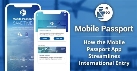 mobile passport app streamlines international