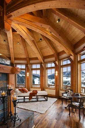 Home Interior Framed by Mosscreek Designs Beautiful Timber Frame Work Hello