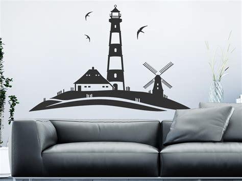 Wandtattoo Kinderzimmer Leuchtturm by Wandtattoo Leuchtturm Landschaft Am Meer Wandtattoo De