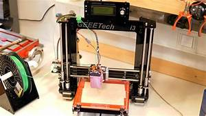 Geeetech Prusa I3 Pro B 3d Printer Diy Kit Assembly  Time