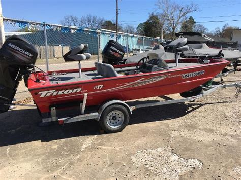 Used Triton Boats In Arkansas by Triton New And Used Boats For Sale In Arkansas