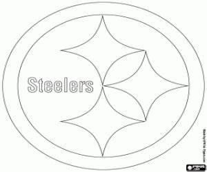Ausmalbilder NFL Logos Malvorlagen