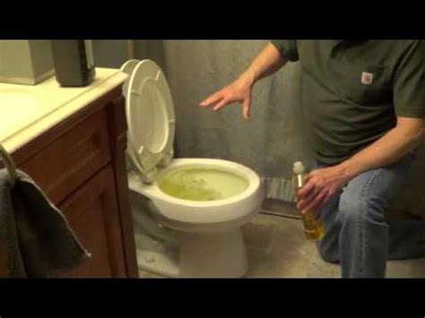 How To Unclog A Toilet Without A Plunger Youtube