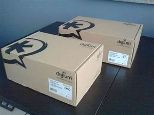 Digium D40 And D70 Phone Unboxing