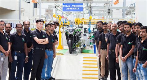 Kawasaki building own motorcycle assembly plant in Pune ...