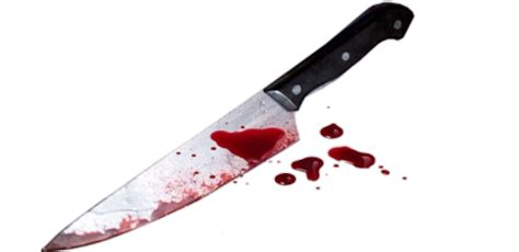colorful kitchen knives transparent knife