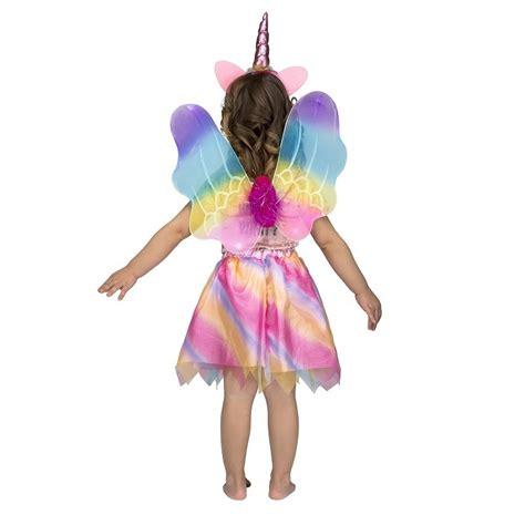 Disfraz de Unicornio Tutú Con Alas para niña