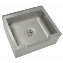 Fiat Sink by Advance Tabco 9 Op 40 Df 25 Quot X 21 Quot X 16 Quot Floor Mounted Mop Sink With Notched Front
