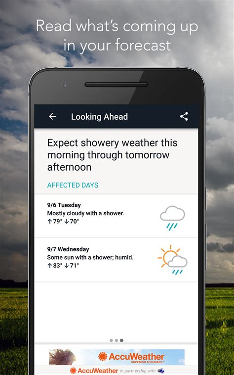 accuweather weather amazon android app radar forecast google superior play apps accuracy