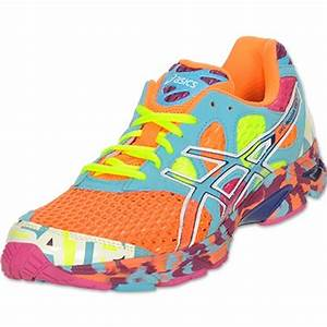 Men s Asics Gel Noosa Tri 7 Running Shoes Neon Orange