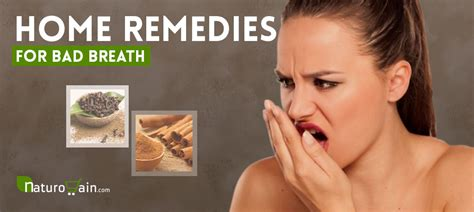 home remedies  bad breath  gain fresh