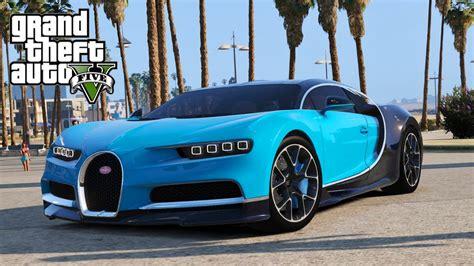 Gta V Bugatti Chiron gta 5 gta v mods bugatti chiron vision tuning add
