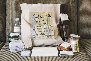 Wedding welcome bags how you should pack yours inside for Wedding welcome gifts for out of town guests
